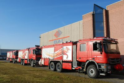 Another successful delivery of BAI Rail and Road fire trucks model VBIM 5500 S CAFS to Far East