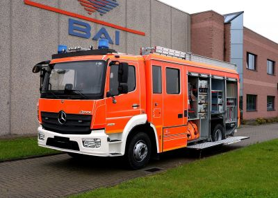 Latest BAI fire fighting vehicles delivered to Germany