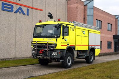 New BAI airport fire truck departing for Africa