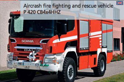New BAI-Scania Airport Rescue Vehicle
