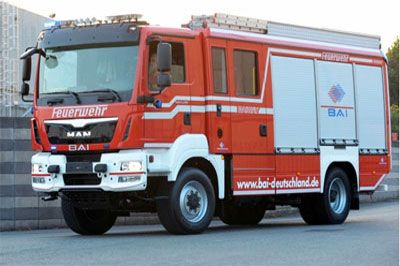 BAI introduces new Euro 6 Demo HLF20 Fire truck. See you @ Weber Rescue Days Event, Germany