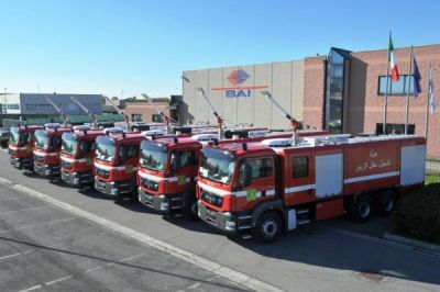 2013. BAI Industrial Fire Fighting Vehicles for petroleum operations sites