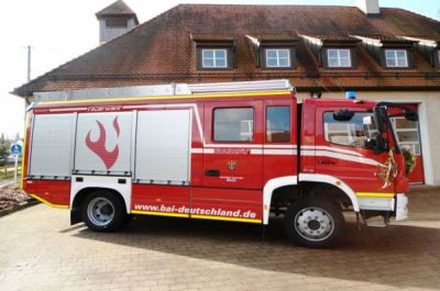 March 2013. LF 10/10 BAIWAY Fire Fighting Vehicle delivered to Gemeinde Boos (City of Boos), Federal State of Bavaria